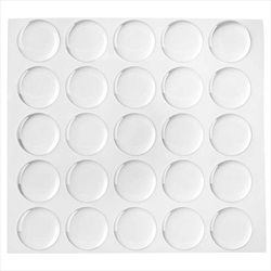 25 1 Inch Circle Epoxy Stickers Bottle Cap Pendants