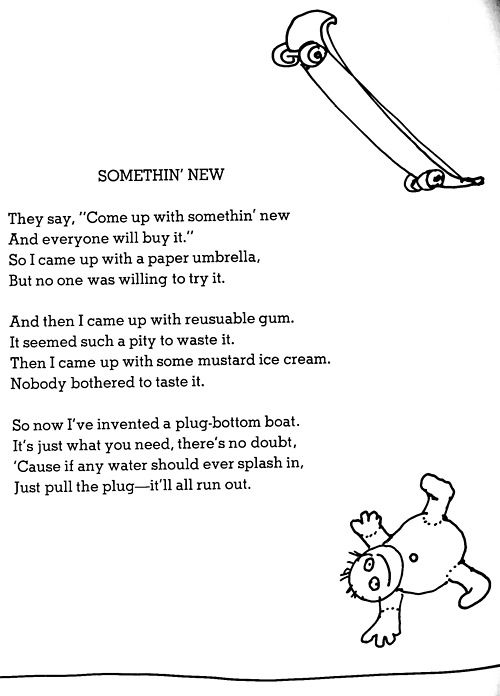 Pin By Mrsoneofakind On Shel Silver Poems Silverstein Poems Shel Silverstein Quotes Shel Silverstein Poems