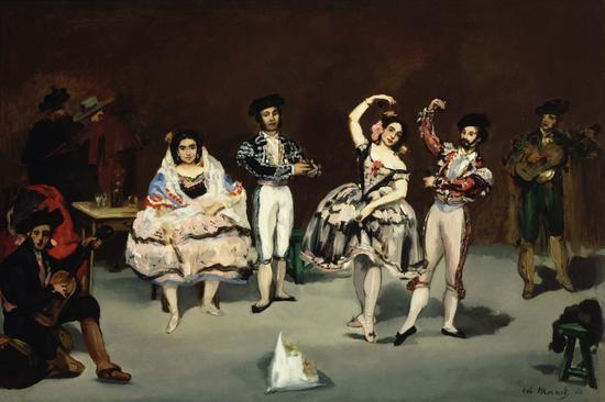 Ballet espagnol, par Édouard Manet                                                                                                                                                                                 Plus