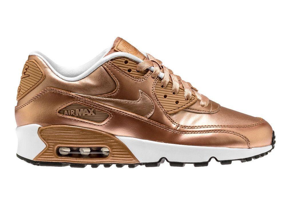 0d43e111f78 Nike Air Max 90 SE LTR Kids - Metallic Bronze – West Brothers  nike  airmax   nikeair  nikeairmax  airmax90  am90  sneakers  bling