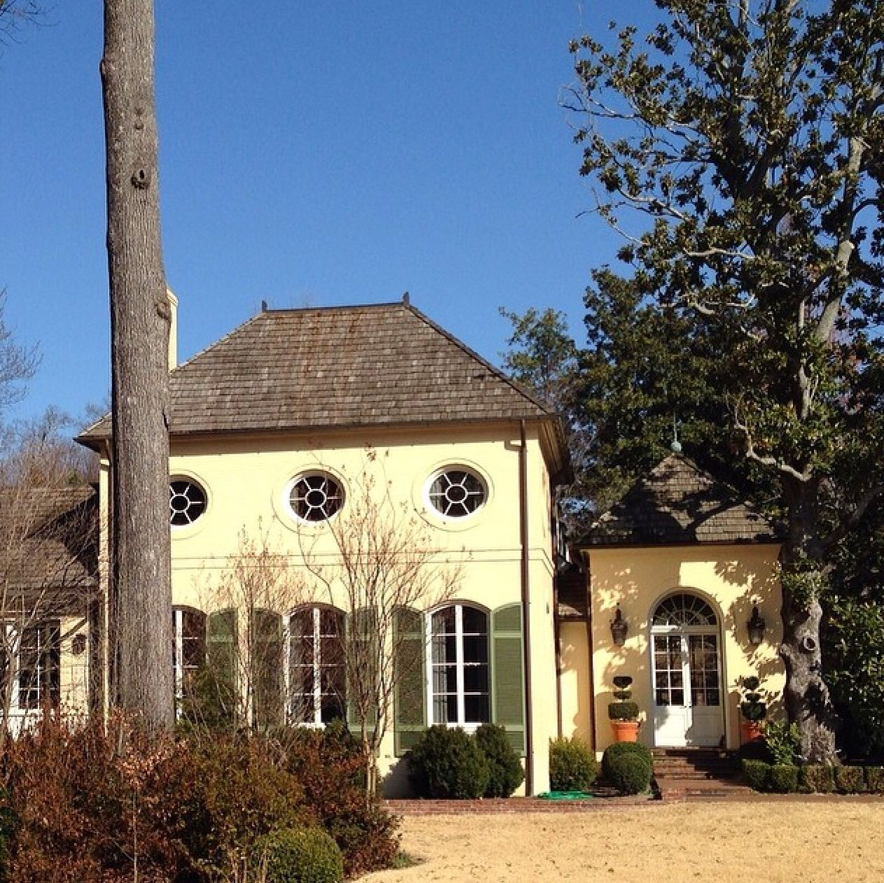 Memphis French Style Homes City House Stucco Homes