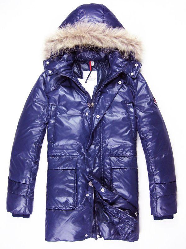 ba77ae43d7ec Moncler Thierry Coats Men Blue