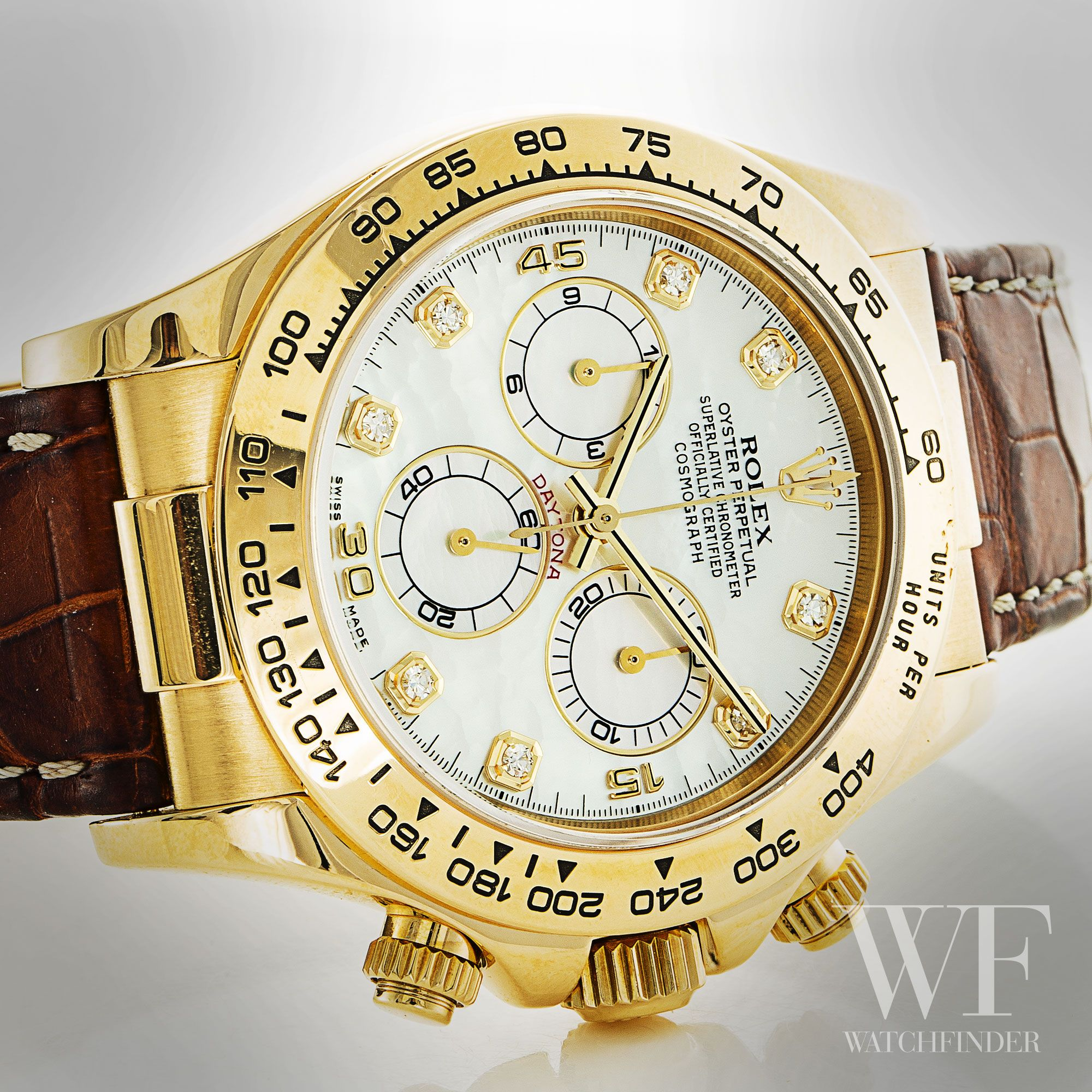 Rolex Daytona 116518 Racingchronograph Automatic Watchfinder