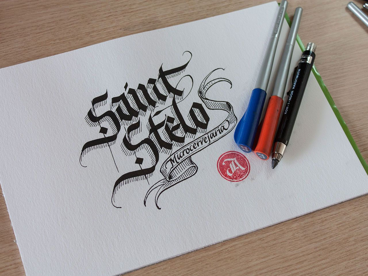 A collect of sketches and logos I created in 2013.