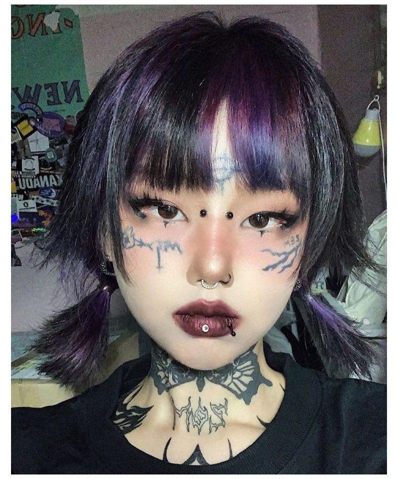 edgy asian makeup