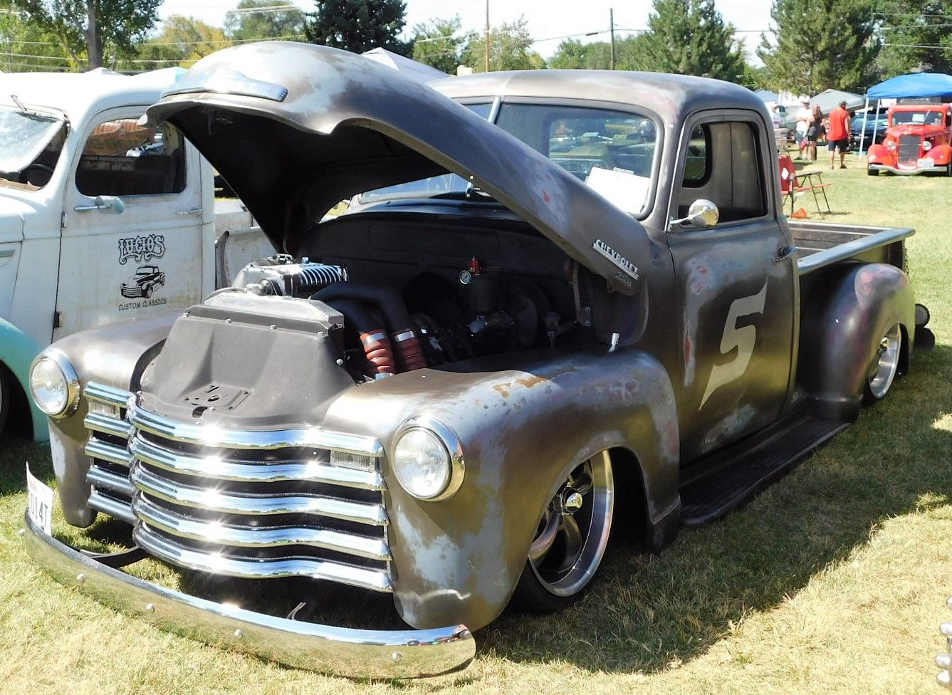 1950 Chevy Truck Patina Chevrolet Pickup Shop Air 1949 Sell Used 12 Ton Short Box Vintage