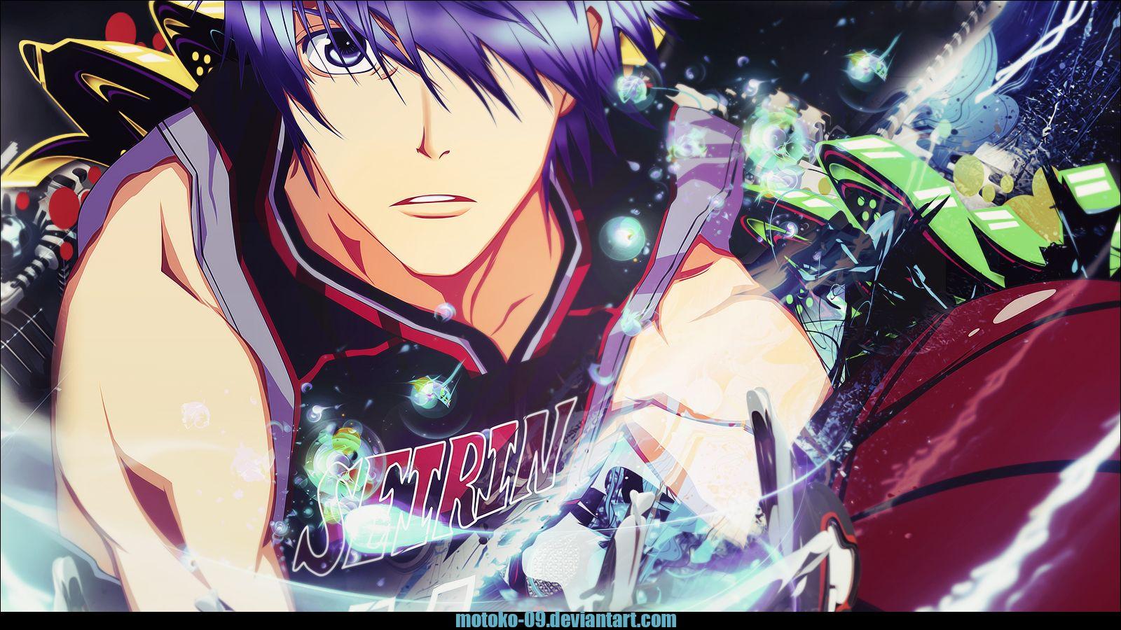 Tetsuya Anime Kuroko No Basket HD Wallpaper