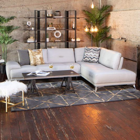 Illusion in 2020 | Leather sectional, Outdoor sectional ...