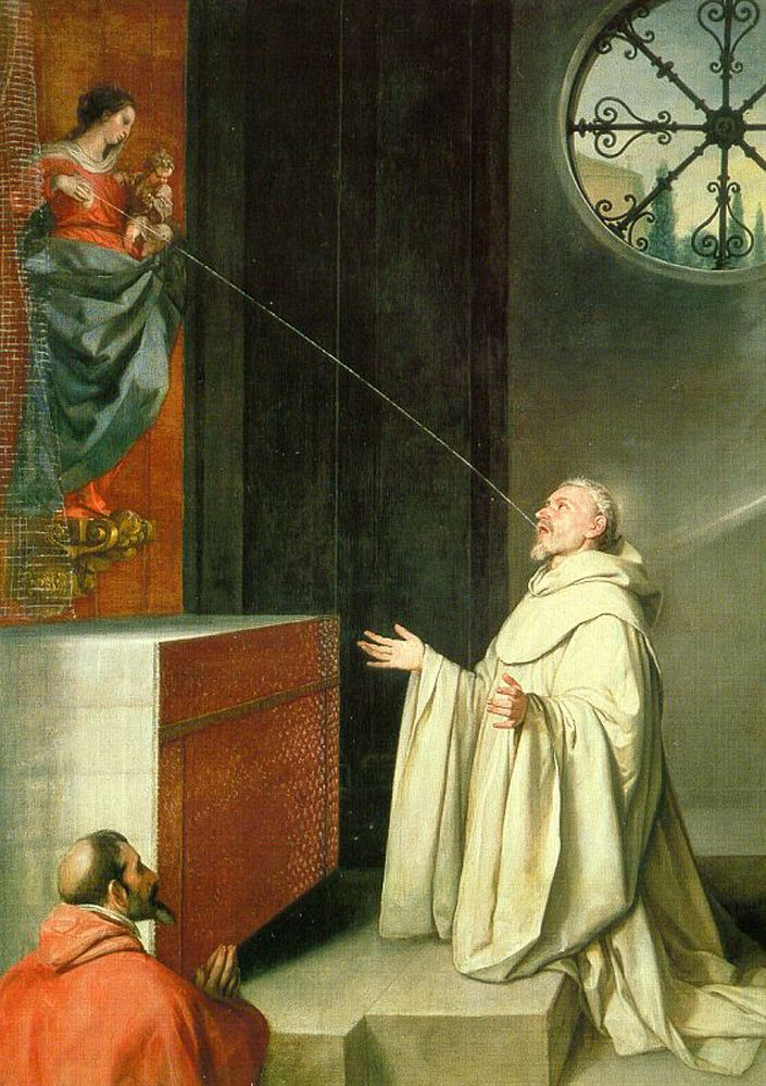 Bernard of clairvaux virginity humility