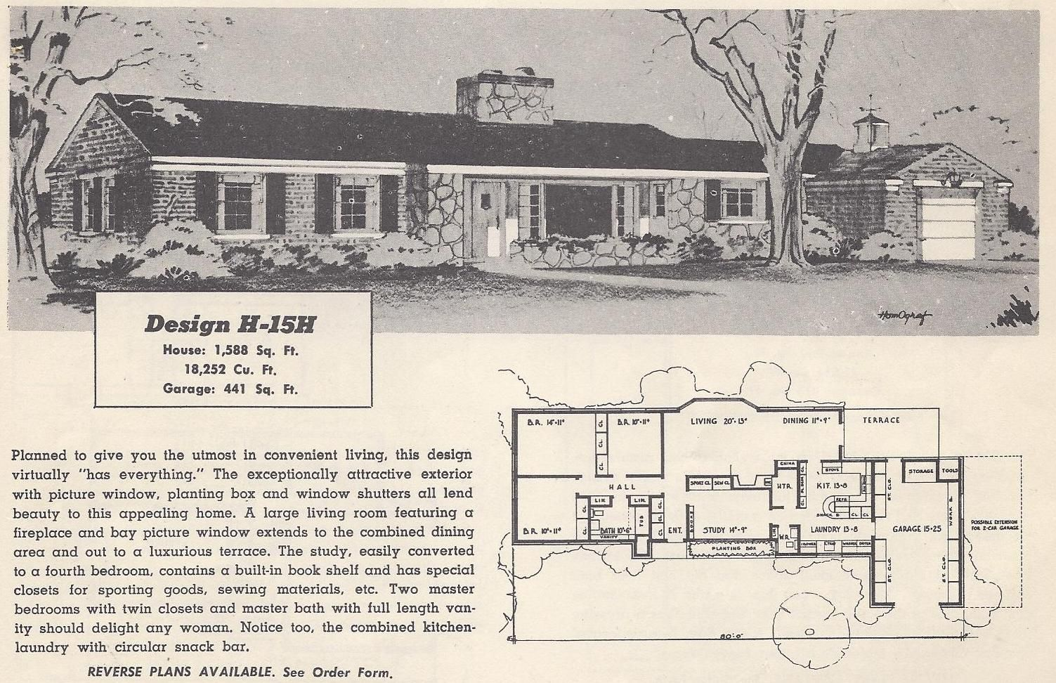 Visit The Post For More Vintage House Plans Ranch Style House Plans Ranch House Plans