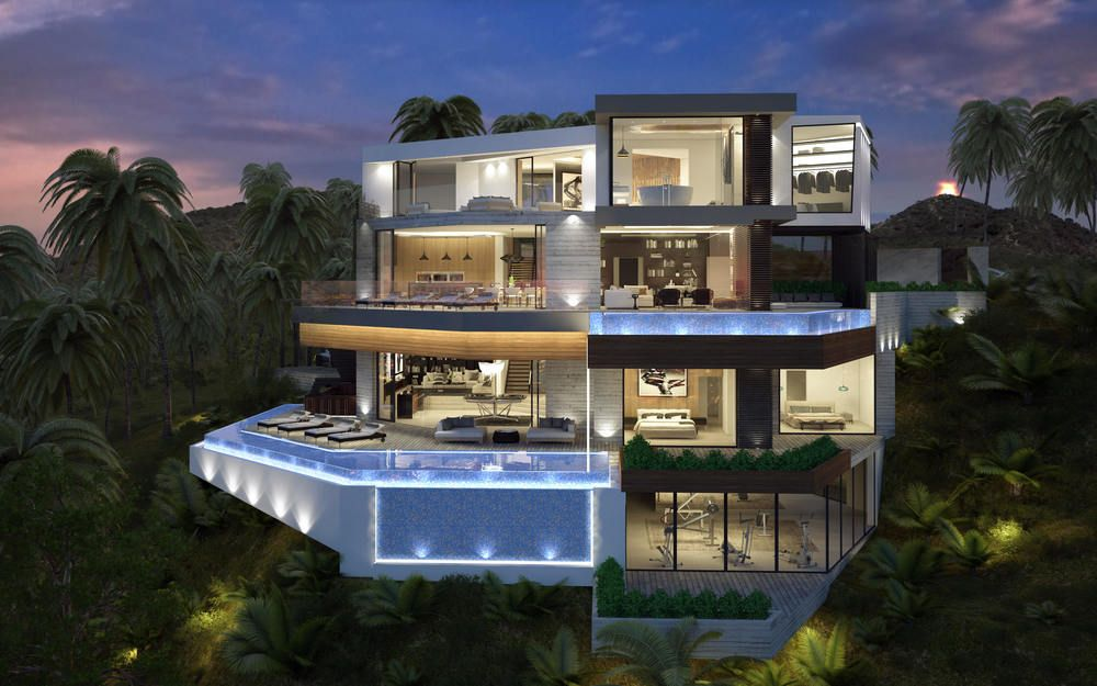 Charming Exceptional Architecture Concepts From Vantage Design Group Modern Mansion,  Luxury Modern Homes, Modern Houses