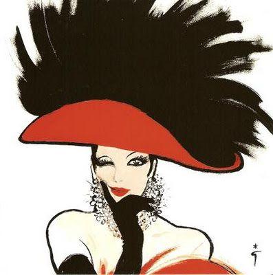 René Gruau ~ Fashion Illustrations