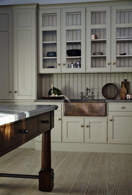 Old School Tradition Soft Ash Old White Kitchen And Beyond Home Kitchens Kitchen Design Modern Kitchen
