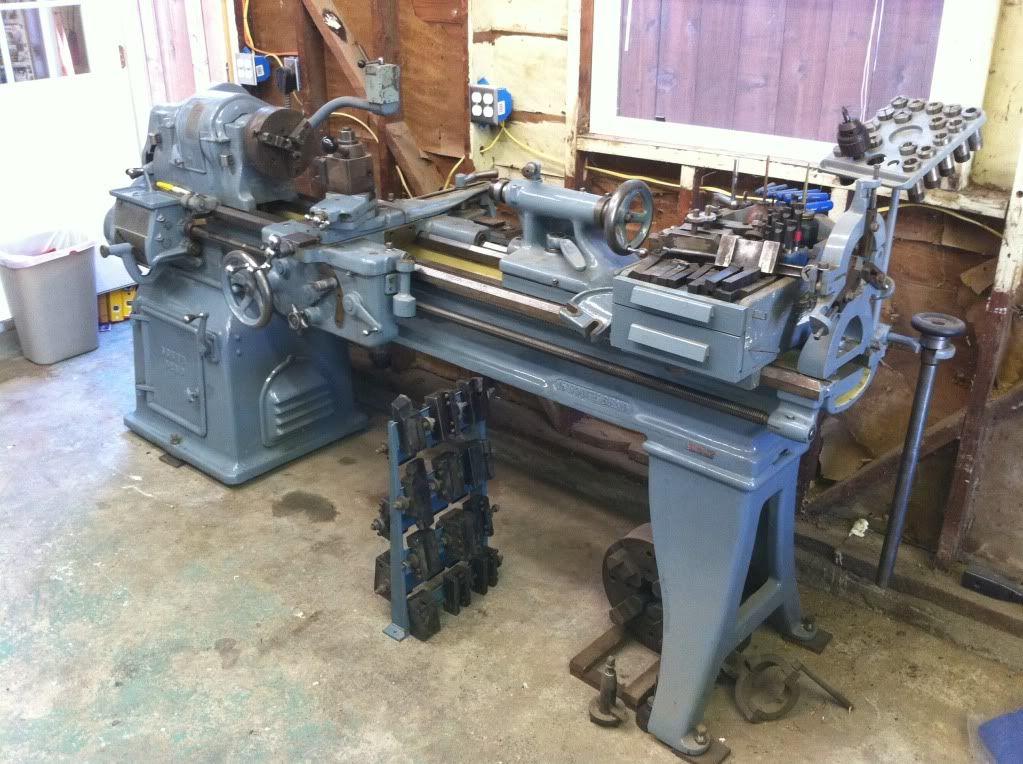 South Bend Lathe 16 5c Collets Taper Attachment Aloris Ca Toolpost Pirate4x4 Com 4x4 And Off Road Forum South Bend Lathe Lathe Machine Shop