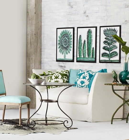 Natural Illustrations Living Room - Cute Botanical - easy on the eyes .. Wisteria