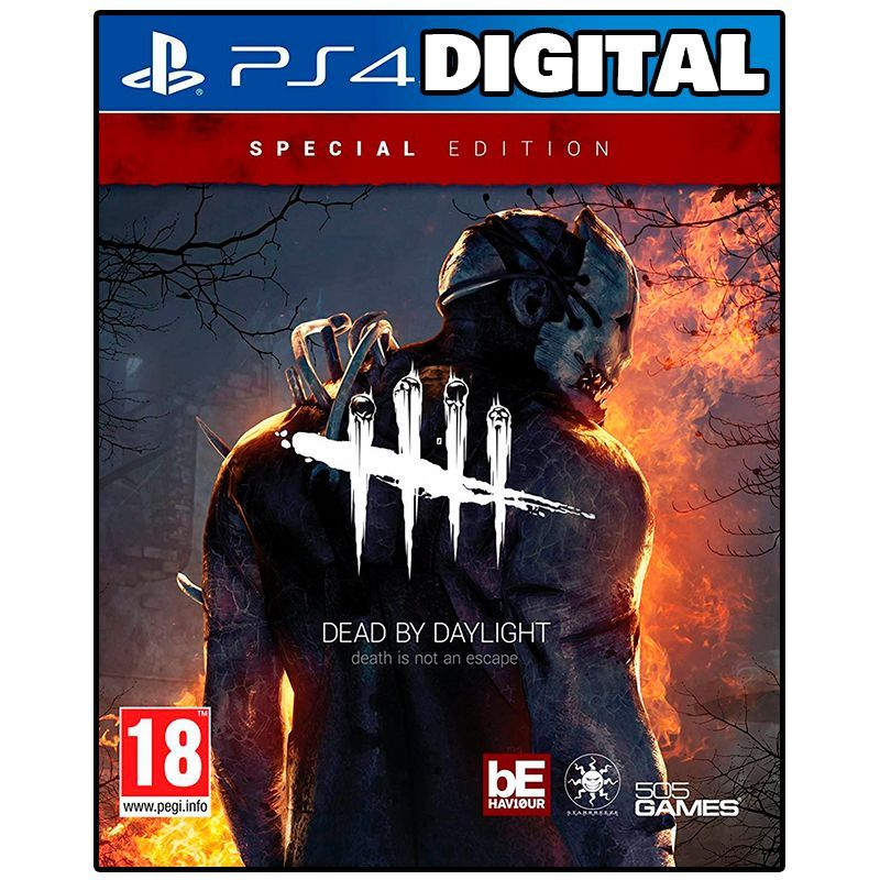 Dead By Daylight Edicao Especial Ps4 Ps5 Ps4 Midia Digital Ps4 Midia Digital Preco Do Ps4