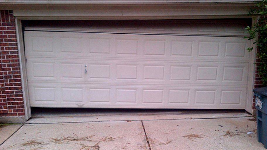 Elegant Sensational Garage Door Stuck Open Architecture