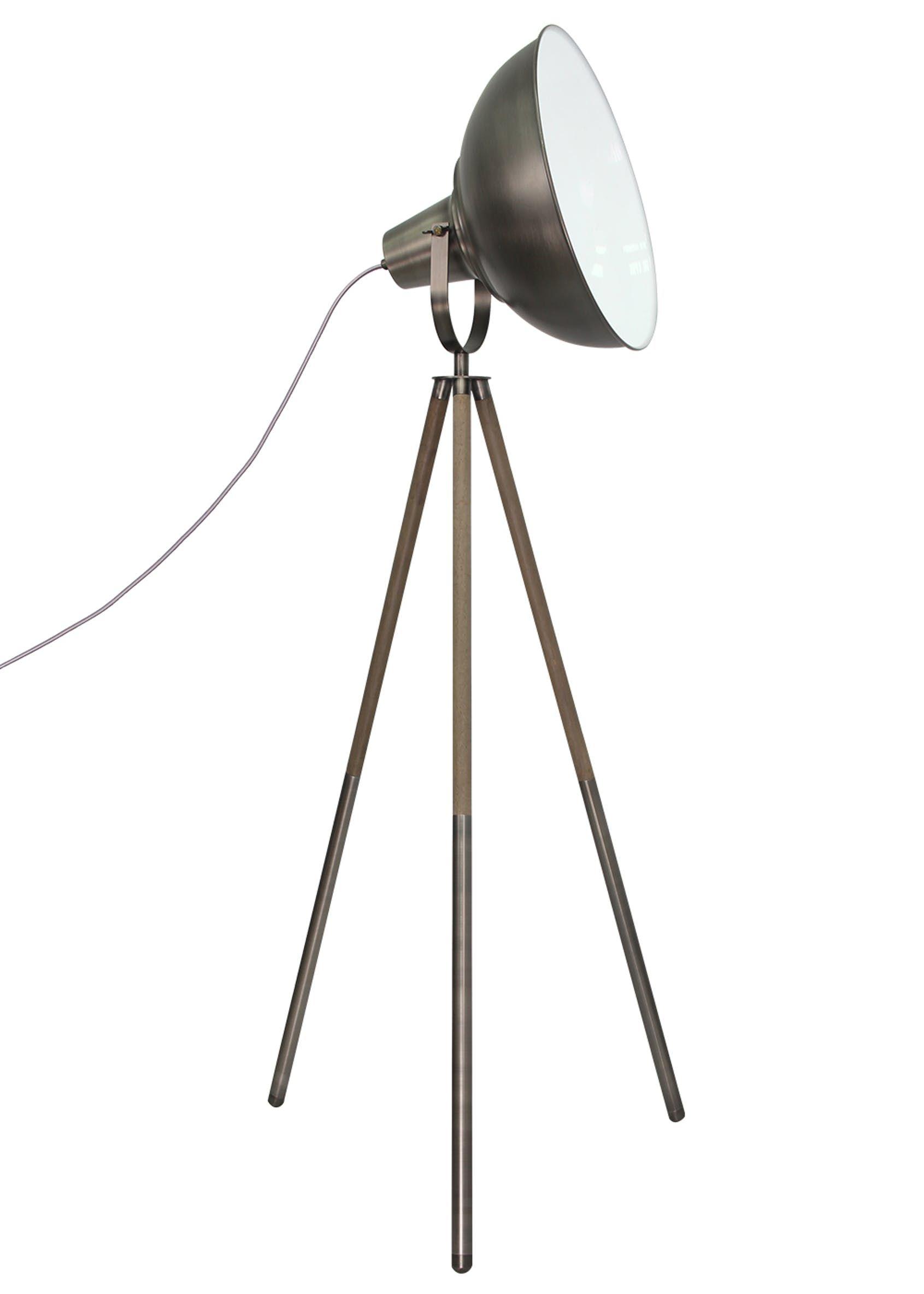Jett Camera Tripod Floor Lamp H147cm X W76cm Silver Floor
