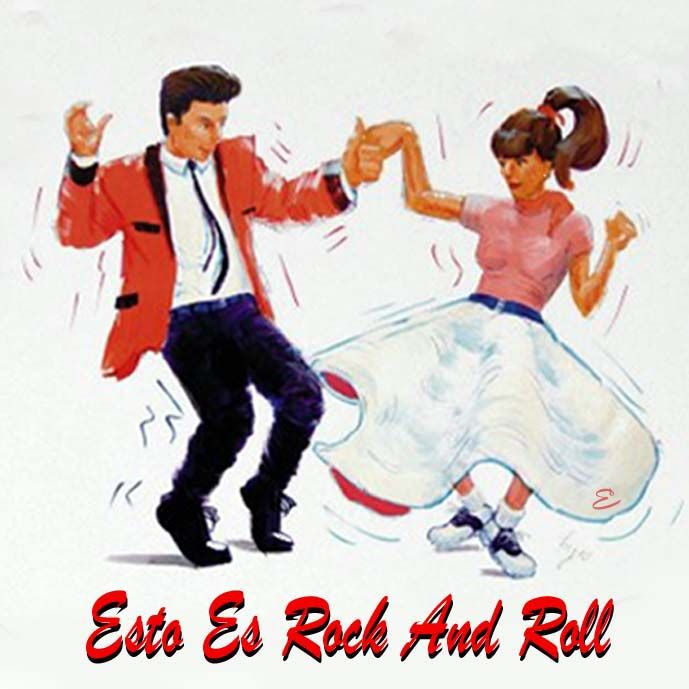 Shake Rattle And Roll Baby 1950s Rock Roll Dance
