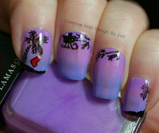 Creative Nail Design By Sue Caribbean Christmas Nail Designs Creative Nail Designs Creative Nails