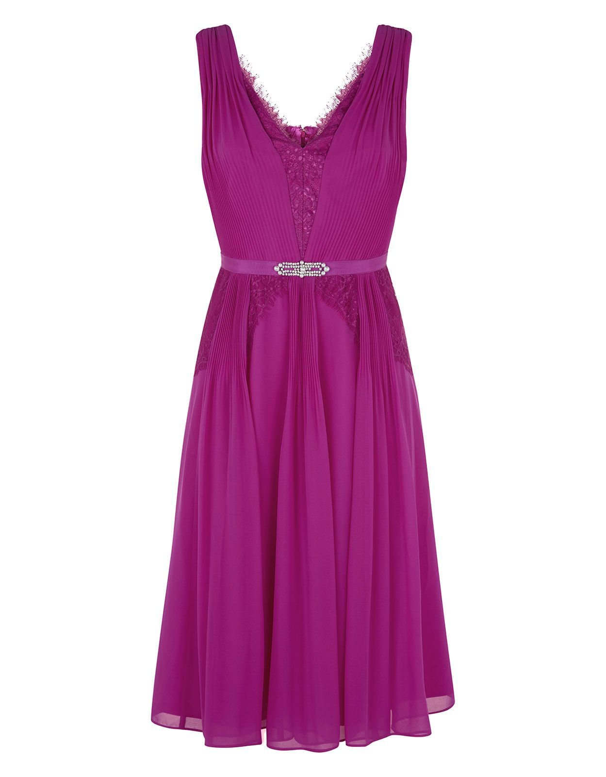 Madison Dress | Pink | Monsoon | Bridesmaid dress ideas | Pinterest ...