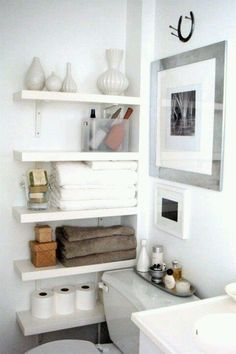 Merveilleux Bathroom Shelves
