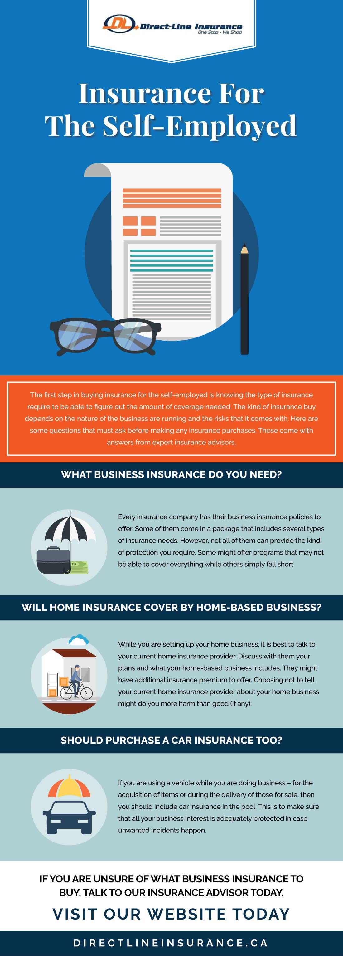If you are a self-employed business insurance buyer, then ...