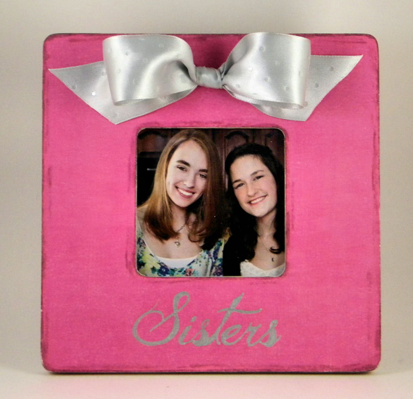 $24.99 Sisters frame, any colors. https://www.etsy.com/listing ...