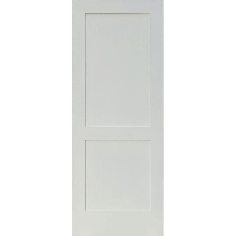 Krosswood doors in  craftsman shaker panel primed solid hybrid core mdf wood interior door slab sh the home depot also rh pinterest