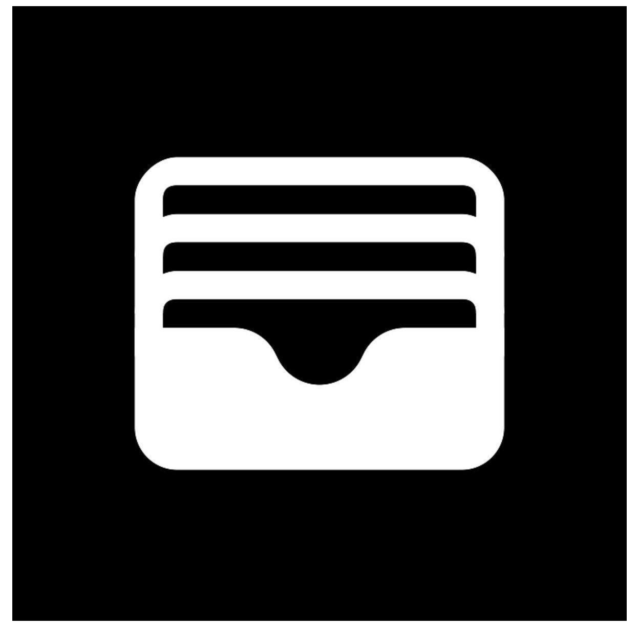 Black Wallet Icon Wallet Icon Black Walleticonblack In 2021 Black App Iphone Photo App App Icon Design