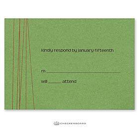 Swank invitation by Checkerboard