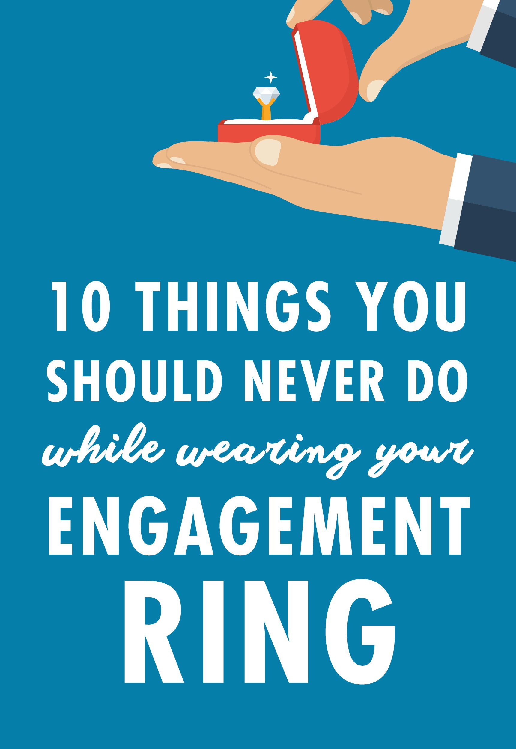 If you're recently engaged or just never got the memo on