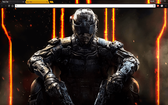 Call Of Duty Black Ops 3 Google Chrome Theme Zombiler Call Of Duty Oyun