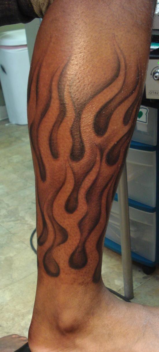 Nice Flame Leg Tattoos Flame Tattoos Leg Tattoos Tattoos