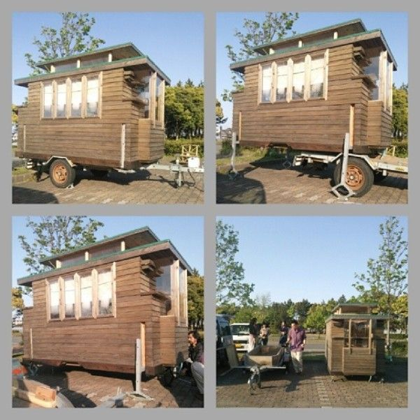 An Tiny House 0018 600x600 Man In Builds Micro Diy On Wheels Very Cool With A Pop Up Roof Click Through For More Pix