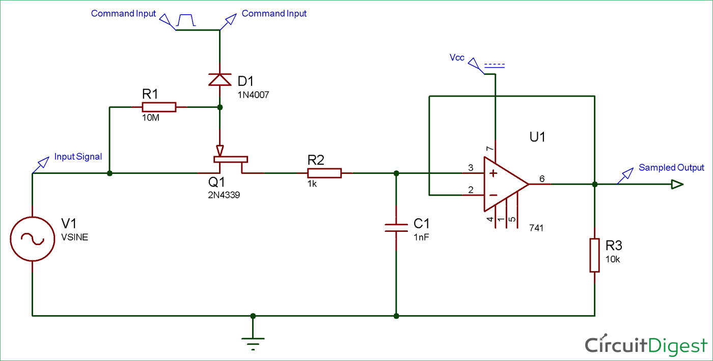 sample and hold circuit diagram electronic circuit diagramssample and hold circuit diagram dc circuit, circuit diagram, electronics projects, electronics gadgets