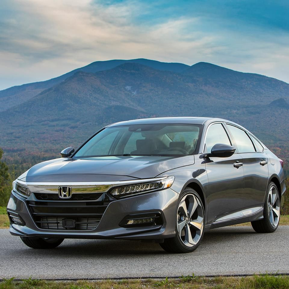 New Year All New Accord Check Out The 2018 With Led Headlights Available Active Grille Shutters And Availabl Crossover Suv Mitsubishi Outlander Honda Accord