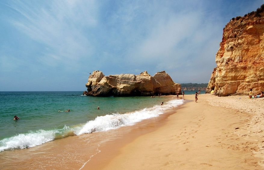 algarve plage portugal rocha
