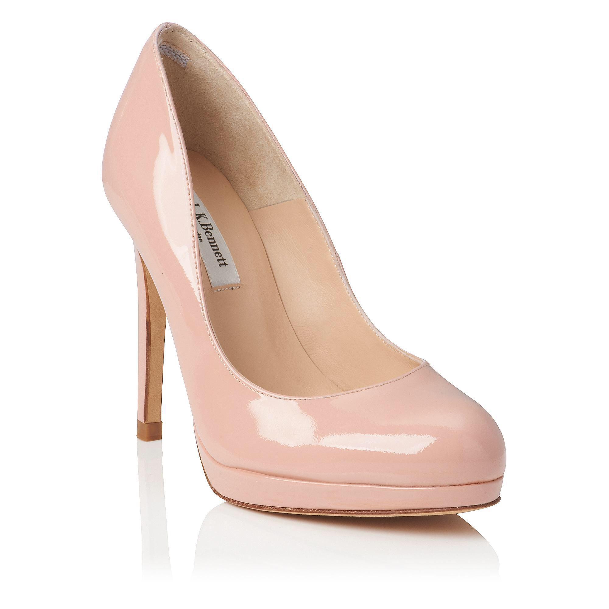 LK Bennett Sledge Patent court shoe | Boot shoes women