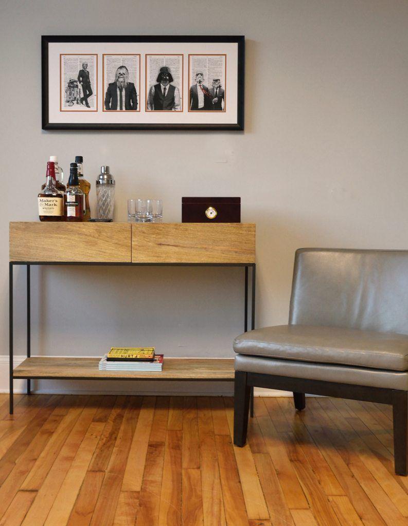 Modern Industrial Office Kismet Interiors Online