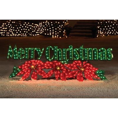 Holiday Living Lighted Metal Freestanding Merry Christmas Sign - Holiday Living Lighted Metal Freestanding Merry Christmas Sign