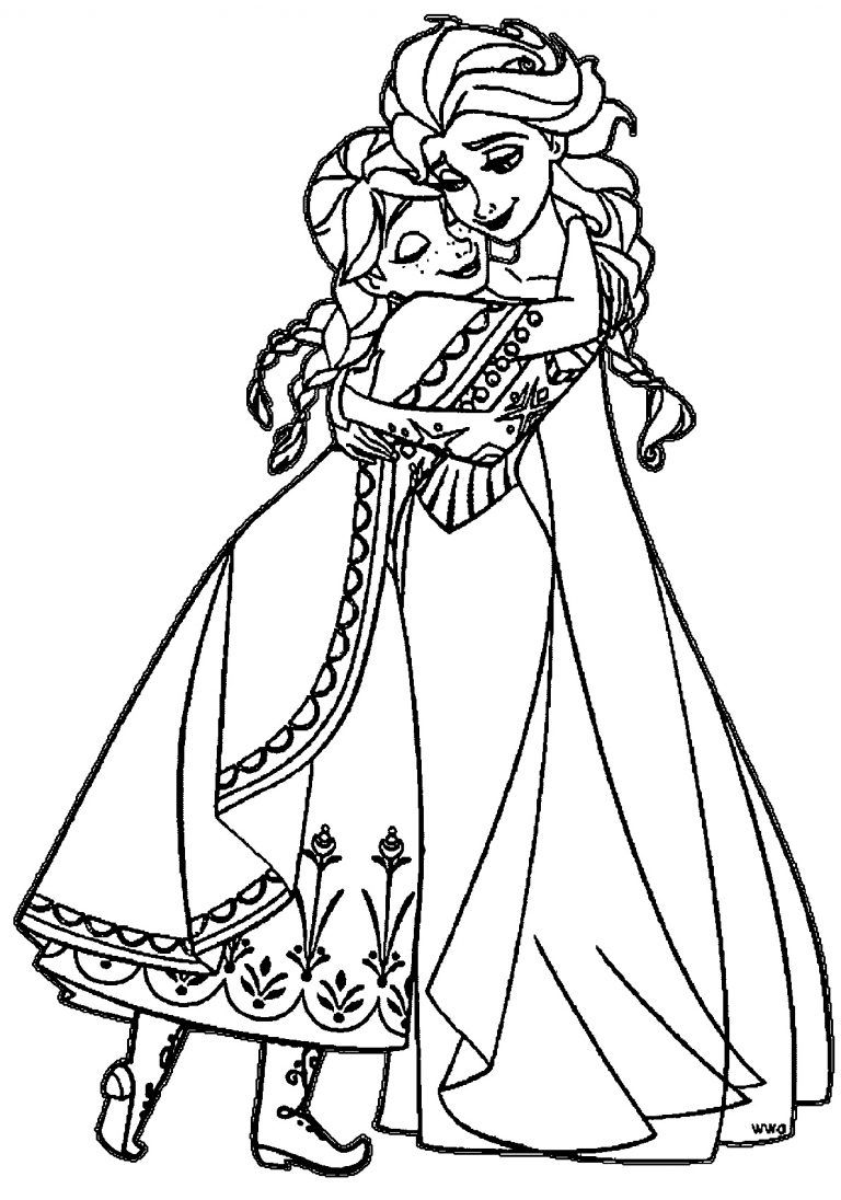 Elsa And Anna Coloring Pages K5 Worksheets Coloring Pages Cat Coloring Page Elsa