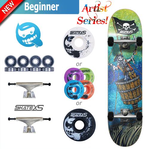 Skatexs Pirate Beginner Complete Skateboard For Kids Citazioni Italiane In 2020 Skateboard Complete Skateboards Kids Skateboarding