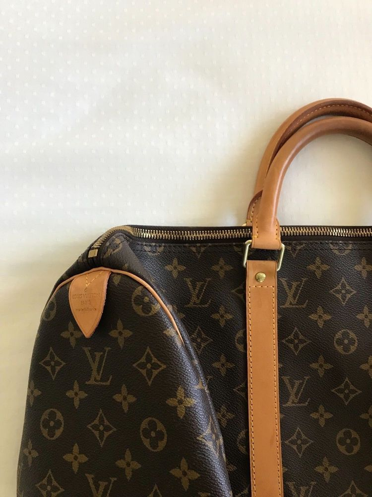 on feet at release date outlet on sale Details about Genuine! LOUIS VUITTON KEEPALL 50 BAG ...