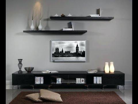 رفوف ايكيا ديكورات الارفف او الرفوف الخشبية دور هام فى تنظيم الاشياء فى المنزل فيمكن اضافتها الى جميع الغرف فهى تعطى لمس In 2020 Tv Wall Decor Wall Unit Decor Tv Decor