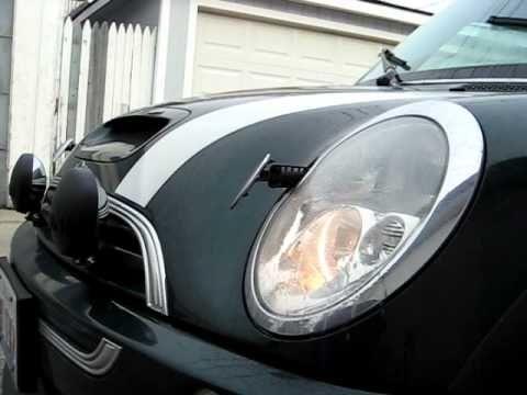 2004 Mini Cooper S R53 Xenon Headlight Washers Jets