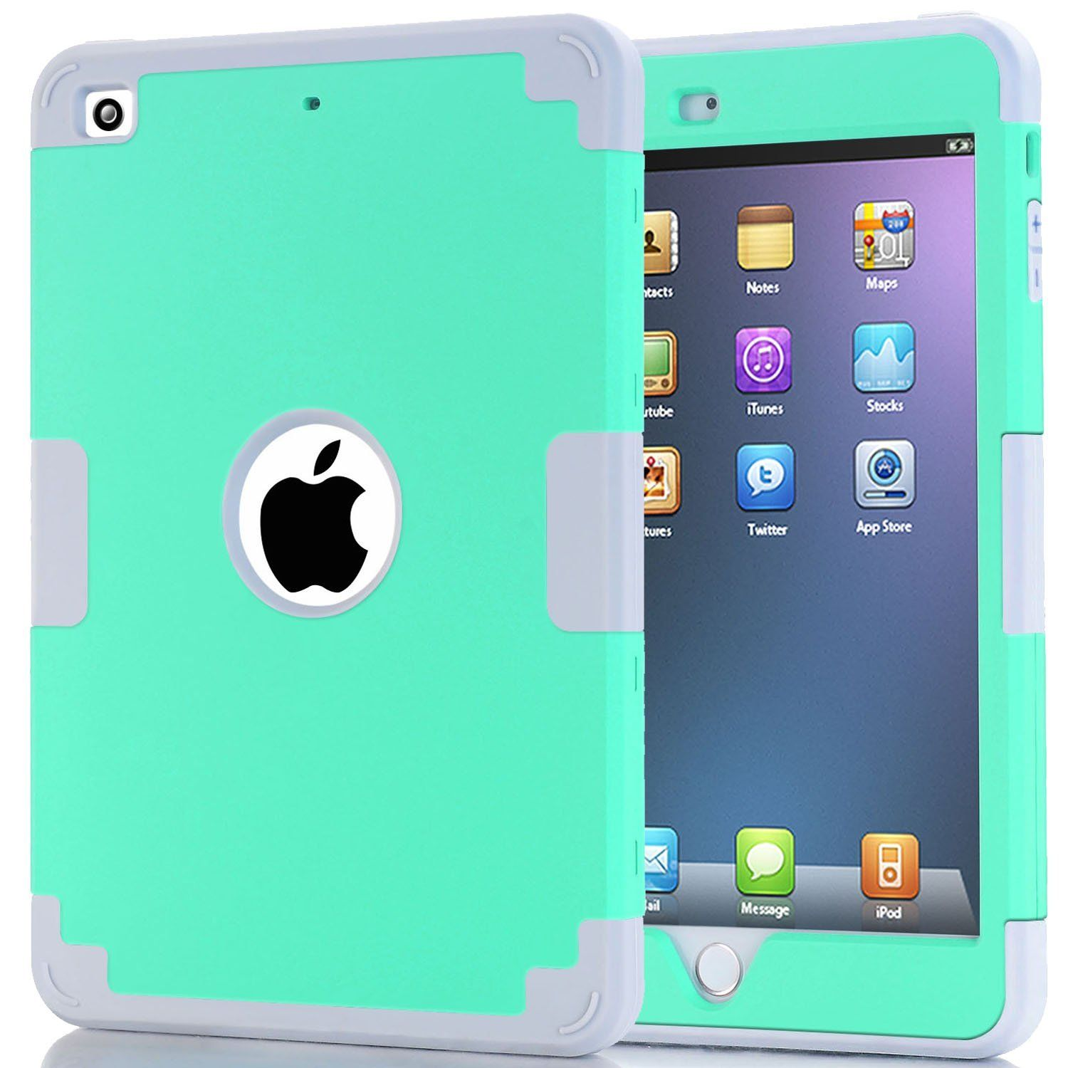 iPad 9.7 Case Full Cover Case with Heavy Duty Protection Bumper Armor Shockprood