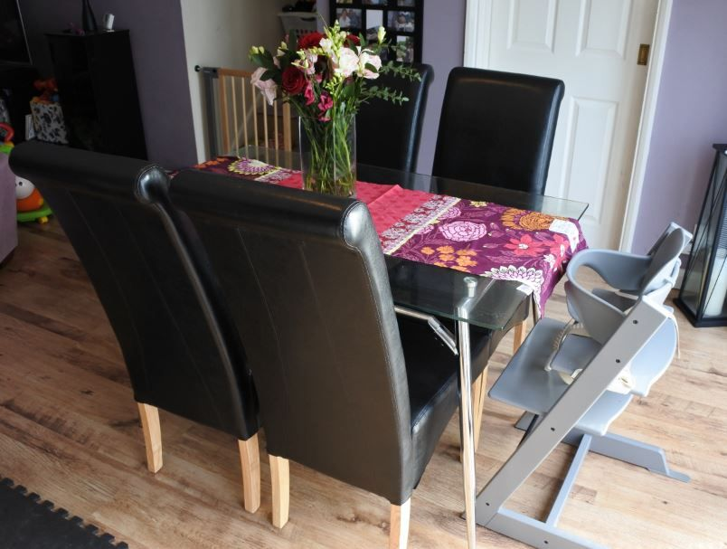 A Review Of The Black Chelsea Leather Dining Chairs From Lakeland Furniture