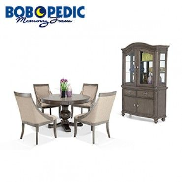 Gatsby 7 Piece Dining Set With Swoop Chairs 7 Piece