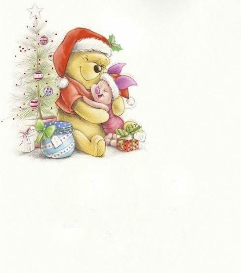 Disegni Di Natale Winnie Pooh.Pooh Bear Christmas All You Need Winnie The Pooh Sfondi